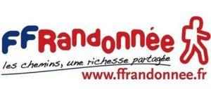 Logo FFRP Fédération Française de Randonnée Pédestre
