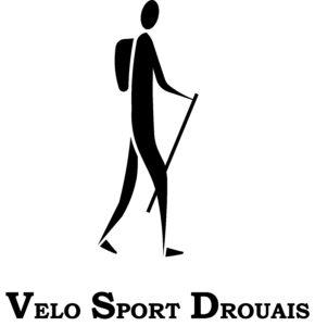 Logo Randonnée Pédestre Vélo Sport Drouais